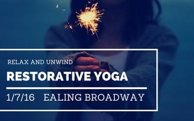 Relax and Unwind – Friday Night Restorative Yoga Workshop